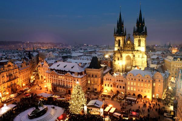 Ville - Hôtel Marchés de Noël à Prague 3* Prague Republique Tcheque