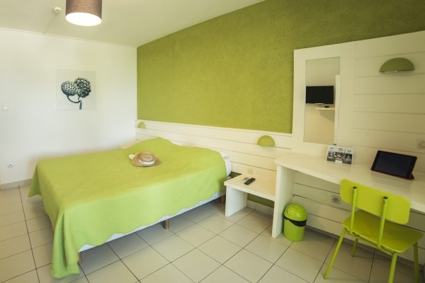 Chambre - Hôtel Les Aigrettes 2* Saint Denis Reunion