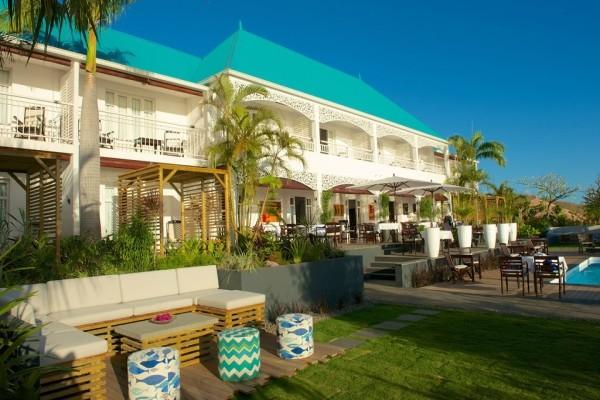 Facade - Hôtel Blue Margouillat Seaview Hotel 4* Saint Denis Reunion
