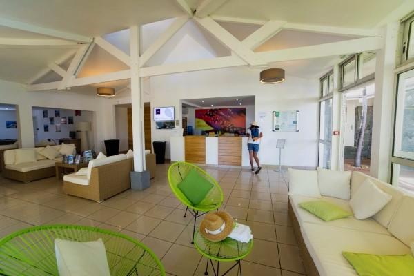 Reception - Hôtel Les Aigrettes 2* Saint Denis Reunion