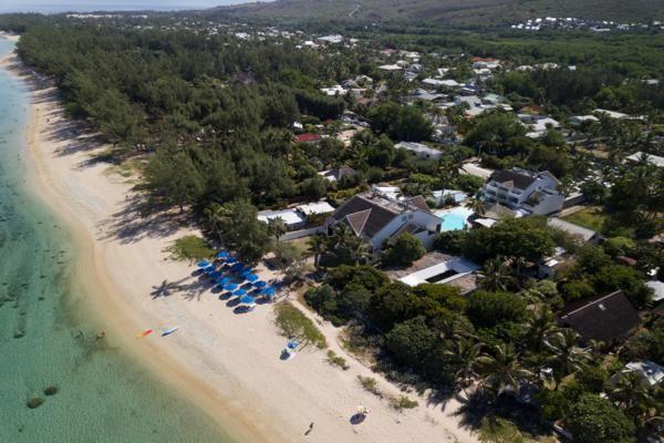 Vue panoramique - Le Nautile Beach Hotel 3* Saint Denis Reunion