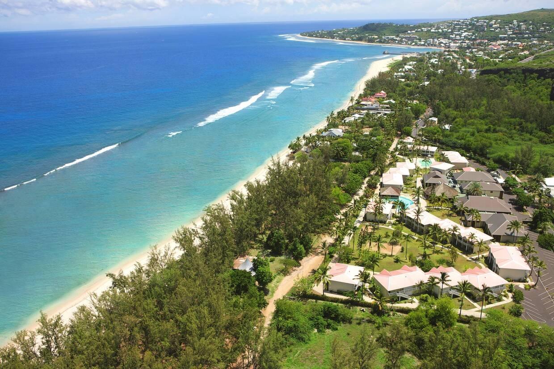 Vue panoramique - Hôtel Le Récif, Saint Gilles Les Bains 3* Saint Denis Reunion