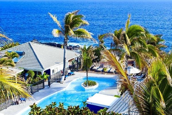 Vue panoramique - Hôtel Le Victoria 3* Saint Denis Reunion
