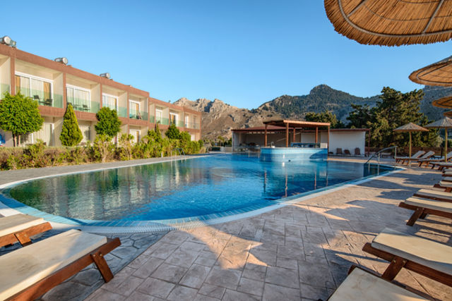 Rhodes : Hôtel Anavadia