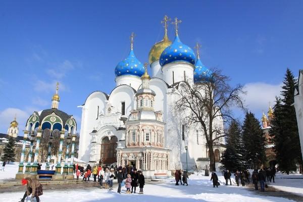dome - Marchés de Noel à Moscou