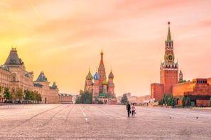 Russie-Moscou, Hôtel Moscou, Coeur de Russie