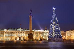 Russie-Saint Petersbourg, Hôtel Court séjour en hiver à Saint Pétersbourg