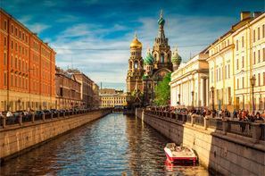 Russie-Saint Petersbourg, Hôtel Saint Sylvestre à Saint Petersbourg