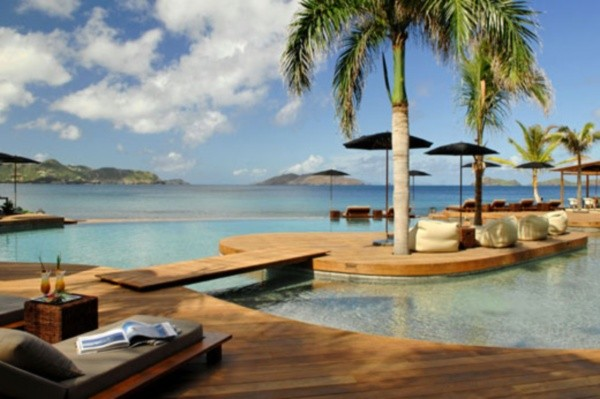 Piscine - Hôtel Christopher St Barth 5* Saint Barthelemy Saint Barthelemy