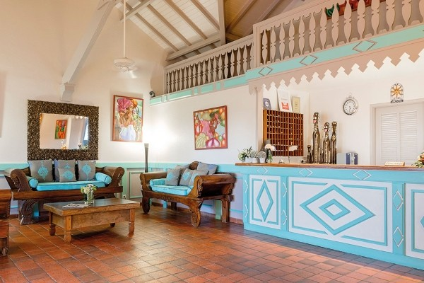 Reception - Hôtel Esmeralda Resort 4* Saint Martin Saint Martin