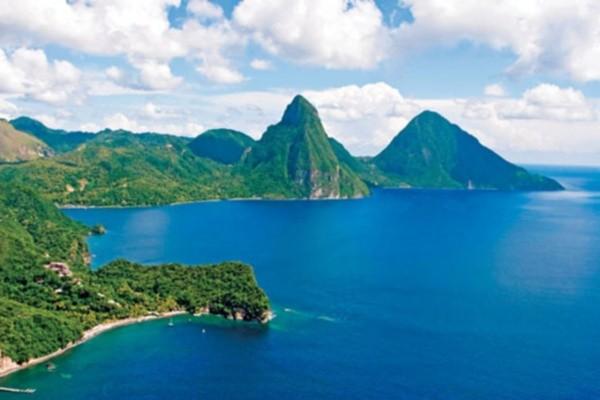 Vue panoramique - Hôtel Ti Kaye Resort & Spa 4* Sainte-Lucie Sainte Lucie