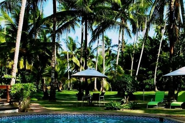 Piscine - Hôtel Omali Lodge 4* Sao Tome Sao Tome