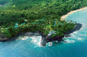 Sao Tome-Sao Tome, Hôtel Club Santana