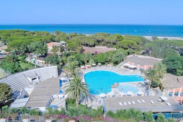 Piscine - Hôtel Hôtel Eden Village Colostrai 4* Cagliari Sardaigne