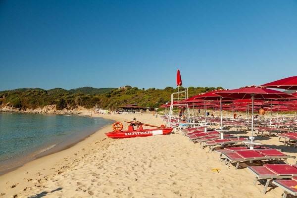 Plage - Hôtel Hôtel Sant'Elmo Beach 4* Cagliari Sardaigne