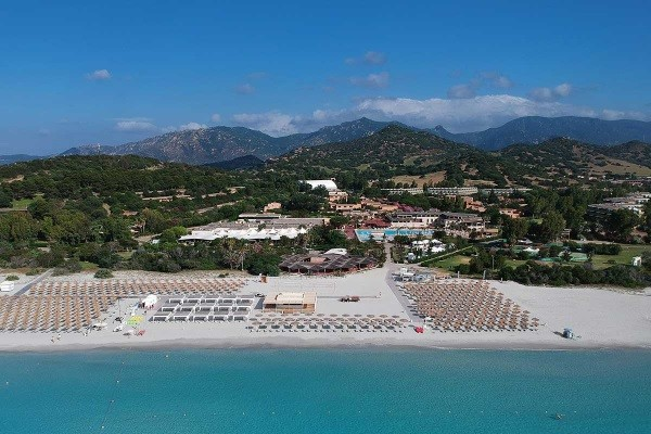 Vue panoramique - Hôtel Hôtel Voi Tanka Resort 4* Cagliari Sardaigne