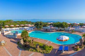 Sardaigne-Olbia, Hôtel Maxi Club Del Golfo