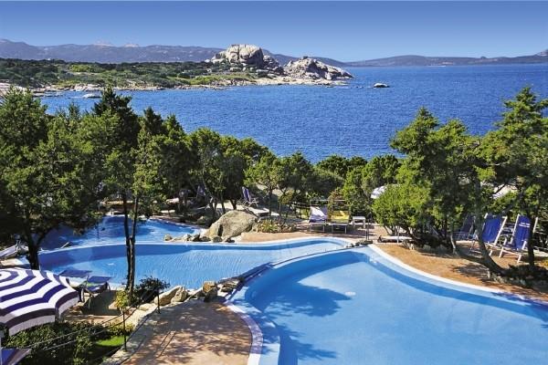 Plage - Hôtel Grand Hotel Smeraldo Beach 4* Olbia Sardaigne