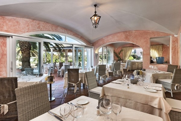 Restaurant - Hôtel Le Palme Hôtel & Resort 4* Olbia Sardaigne