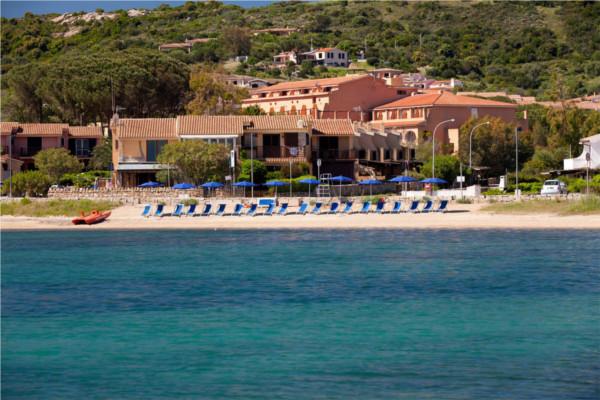 Vue panoramique - Hôtel Blu Hotel Laconia Village 4* Olbia Sardaigne