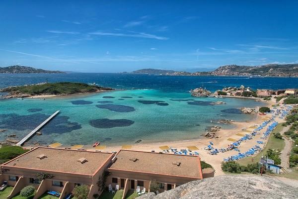 Vue panoramique - Hôtel Isola Di Santo Stefano 4* Olbia Sardaigne