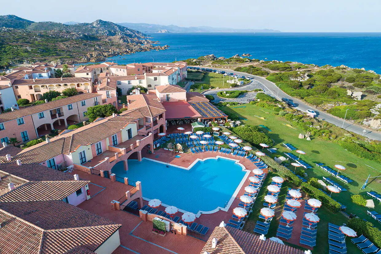 Vue panoramique - Club Lookéa Cala Blu 4* Olbia Sardaigne