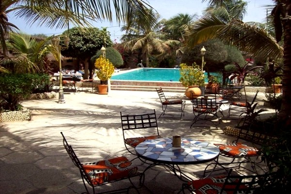 Bar - Hôtel Club Safari 2* Dakar Senegal