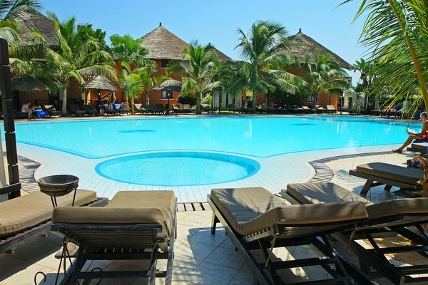 Piscine - Hôtel Lamantin Beach Resort & Spa 5* Dakar Senegal