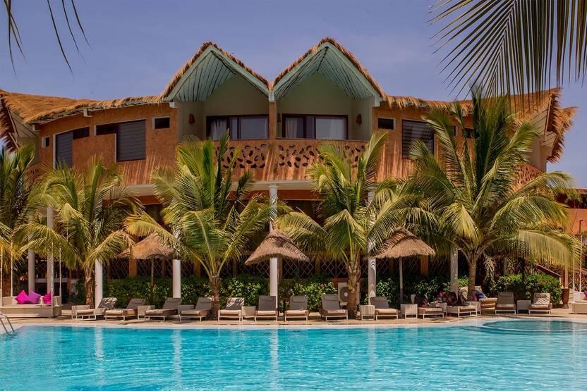 Piscine - Hôtel Lamantin Beach Resort & Spa 5* Dakar Senegal