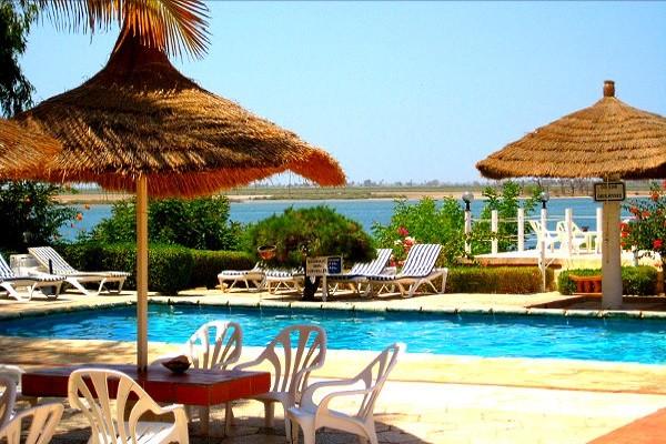 Piscine - Hôtel Le Pélican du Saloum 3* Dakar Senegal