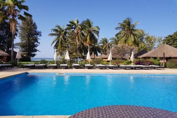 Piscine - Hôtel Le Saly hotel 4* Dakar Senegal