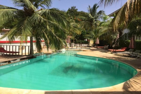 Piscine - Hôtel Les Flamboyants 3* Dakar Senegal