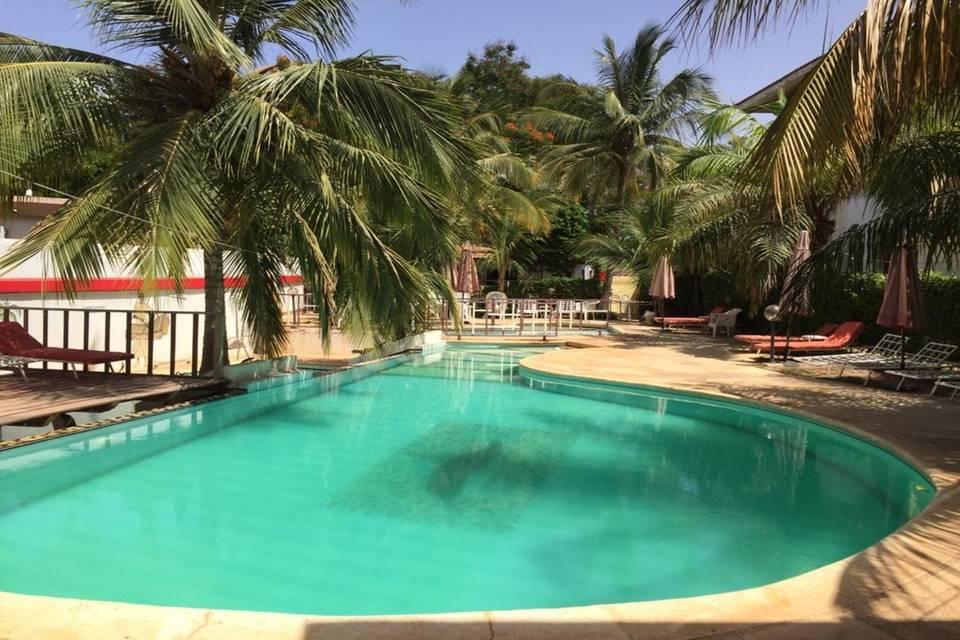 Hôtel Les Flamboyants Afrique Senegal