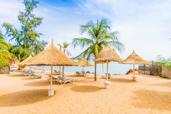 Plage - Hôtel Club les Bougainvillées 4* Dakar Senegal