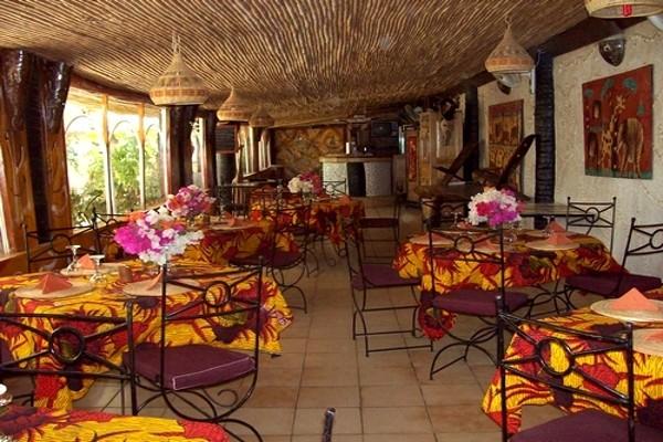 Restaurant - Hôtel Club Safari 2* Dakar Senegal