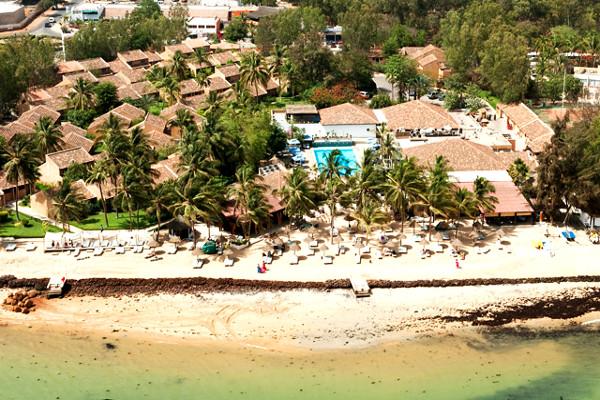 Vue aérienne - Le Saly hotel