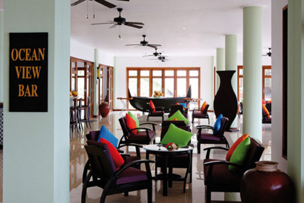 Bar - Hôtel Double Tree by Hilton - Allamanda Beach Resort & Spa 4* Mahe Seychelles