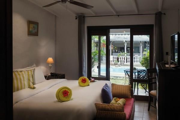 Chambre - Hôtel Auberge Chez Plume 4* Mahe Seychelles