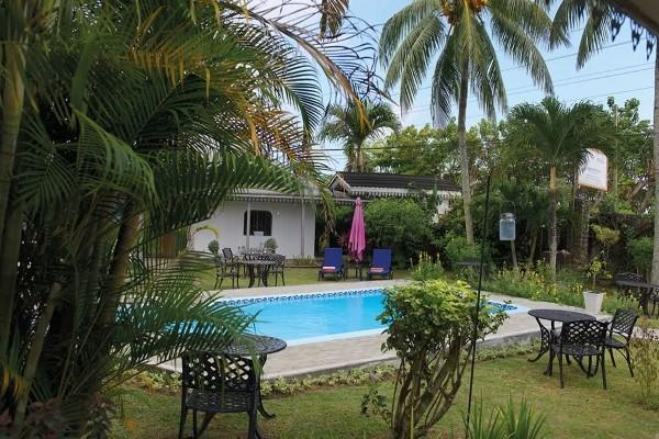 Piscine - Hôtel Auberge Chez Plume 4* Mahe Seychelles