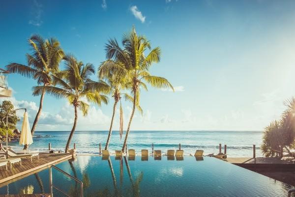 Piscine - Hôtel Carana Beach 4* Mahe Seychelles
