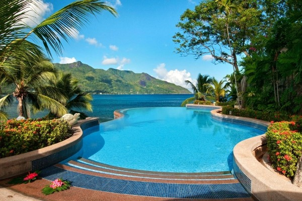 Piscine - Hôtel Hilton Seychelles Northolme Resort & Spa 5* Mahe Seychelles