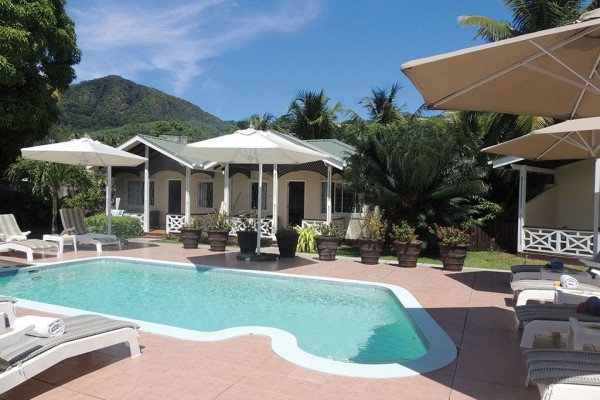 Piscine - La Roussette Seychelles