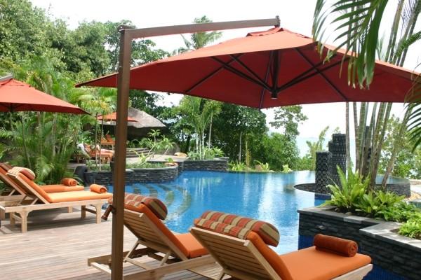 Piscine - Hôtel Maia Luxury Resort & Spa 5* Mahe Seychelles