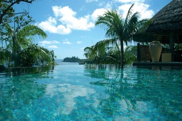 Piscine - Hôtel Valmer Resort & Spa 3* Mahe Seychelles