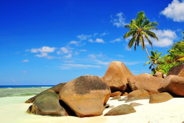 Plage - Hôtel Berjaya Praslin Resort 3* Mahe Seychelles