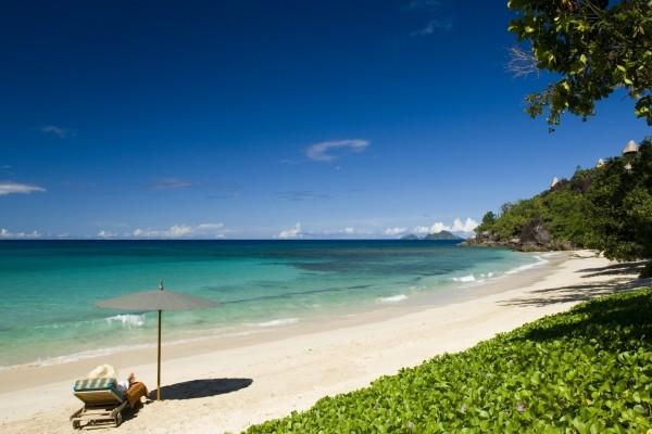 Plage - Hôtel Maia Luxury Resort & Spa 5* Mahe Seychelles
