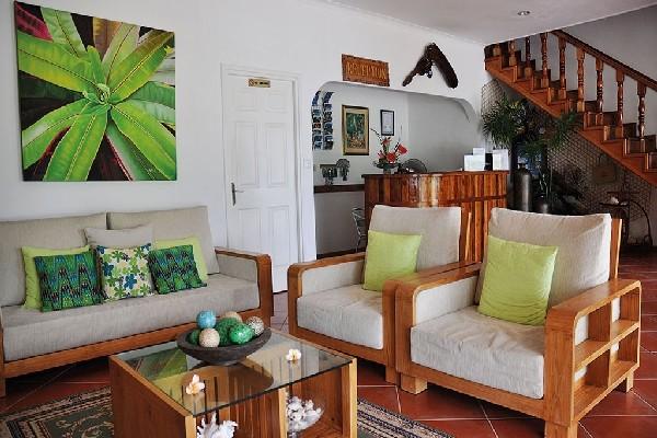 Reception - Hôtel L'Habitation Cerf Island 3* Mahe Seychelles