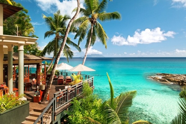 Terrasse - Hôtel Hilton Seychelles Northolme Resort & Spa 5* Mahe Seychelles