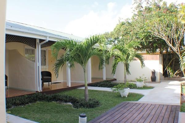 Terrasse - Hôtel La Roussette Seychelles 3* Mahe Seychelles