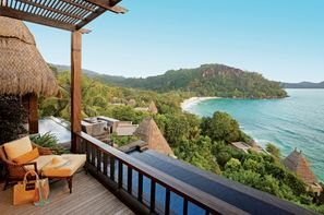 Seychelles-Mahe, Hôtel Maia Luxury Resort & Spa